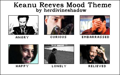 Keanu Reeves mood theme
